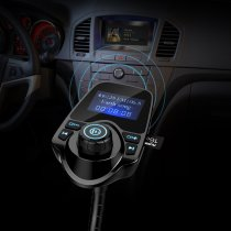 Bluetooth FM Transmitter Delivers Tunes and Hands Free Calling