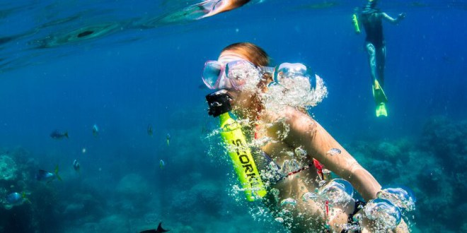 Scorkl Allows You To Breathe Underwater With Total Freedom