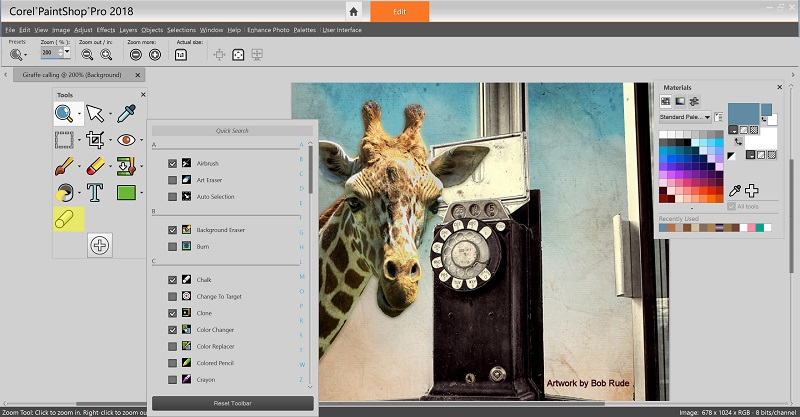 PaintShop Pro 2018 Makes Advanced Photo Editing More Accessible and Affordable Than Ever