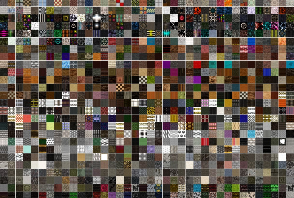 Third Megacollection of Seamless Textures Released