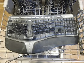What Happens When You Put a Keyboard in the Dishwasher?