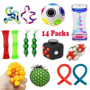 14 Pack Bundle Sensory Toys