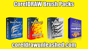 CorelDRAW Brush Packs Add to Your Designs