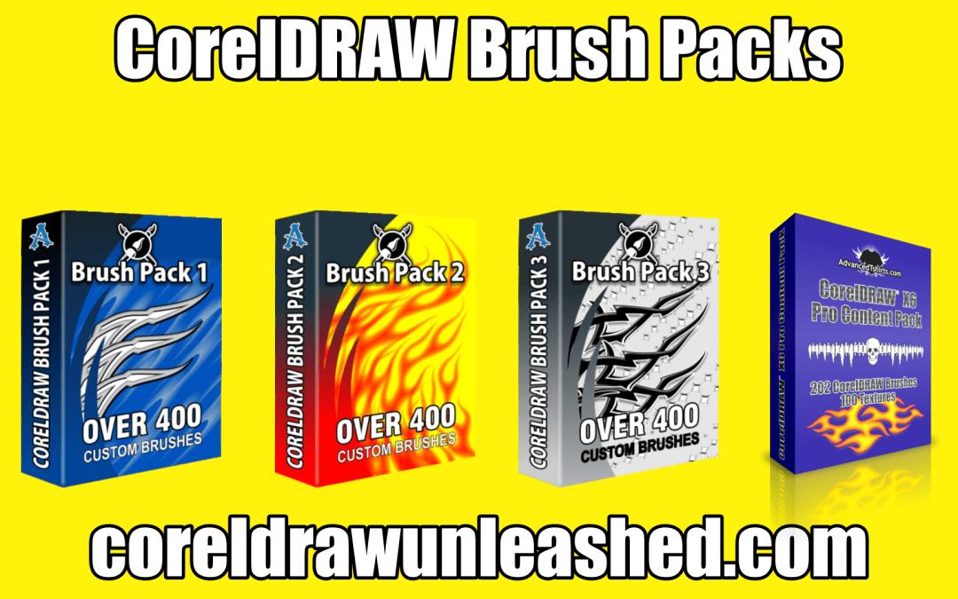 CorelDRAW Brush Packs Add to Your Designs