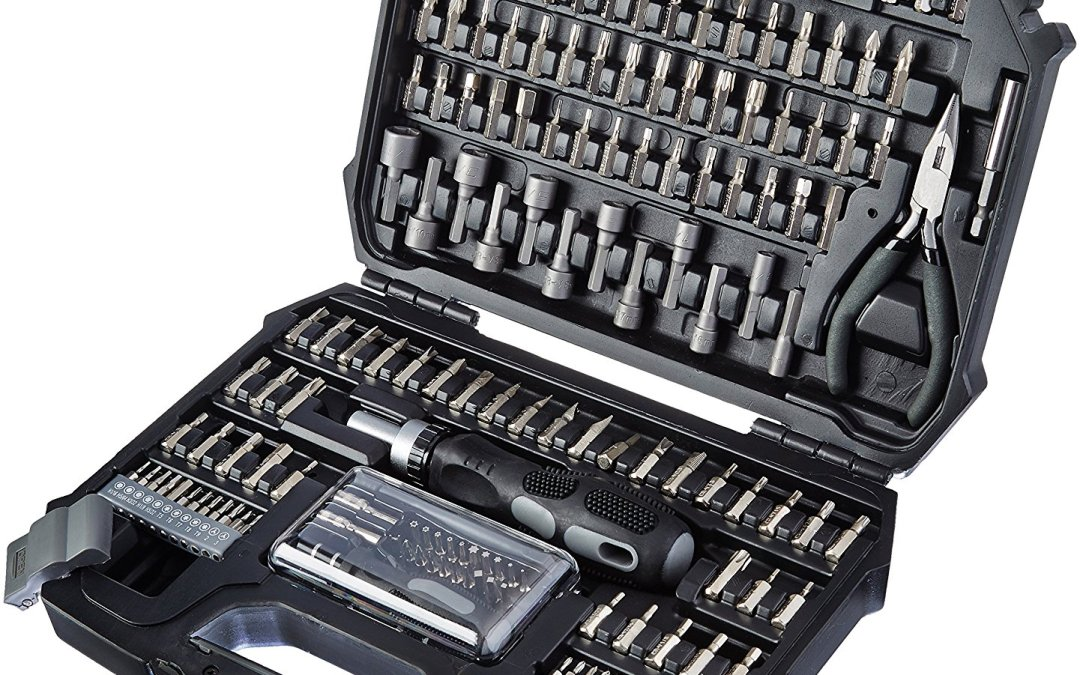 151 Piece Screwdriver Kit With Pliers and Durable Case