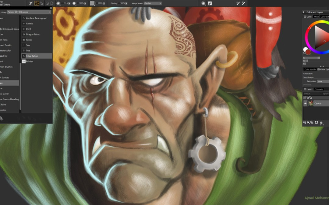 Industry's Most Powerful Digital Paint Software Evolves for Today's Professional Artists