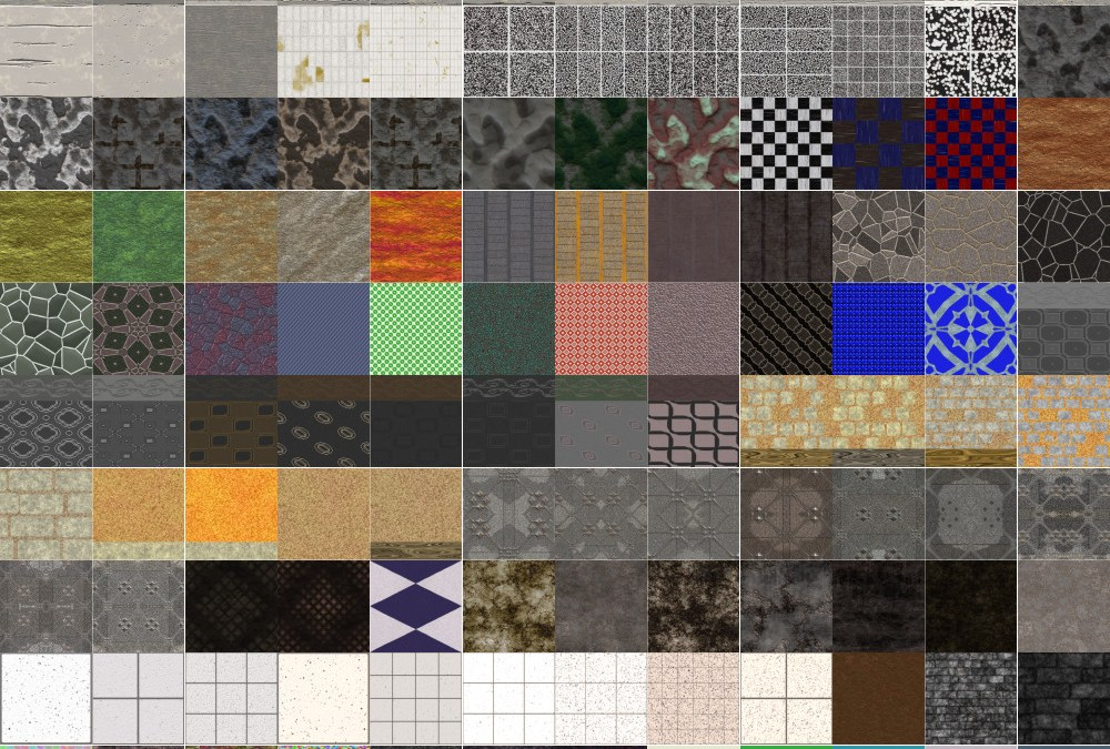 Floor and Wall Seamless Textures in New Collection