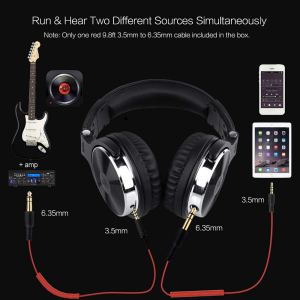 OneOdio Over-Ear Headphones with Two Sources