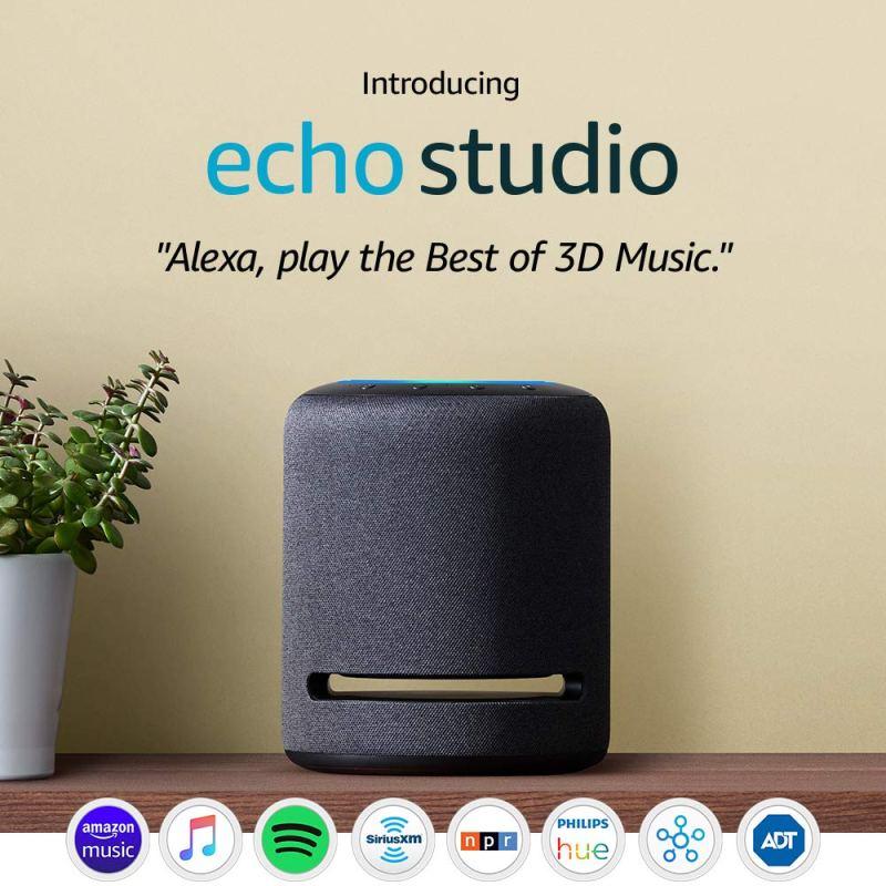 Amazon Echo Studio Smart Speaker With Alexa