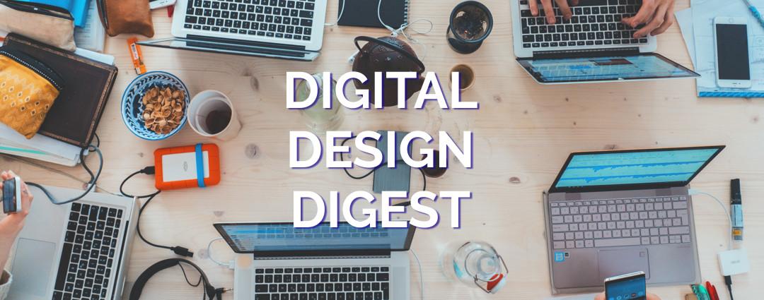 Digital Design Digest for May 26, 2020
