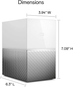 WD 8TB My Cloud Home Duo Personal Cloud Storage