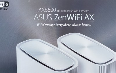 ASUS ZenWiFi AX Tri-Band Mesh System Delivers Strong Signal