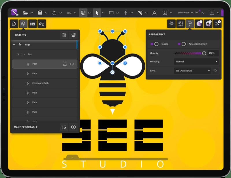 CorelDRAW App for iPad