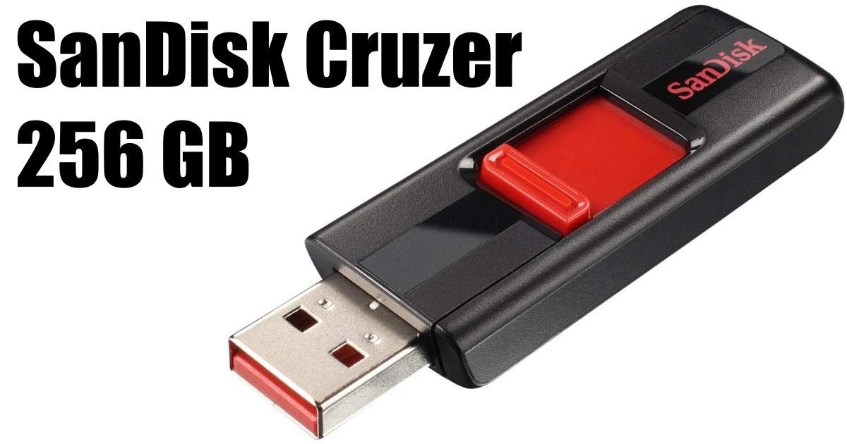 SanDisk 256GB Cruzer USB 2.0 Flash Drive