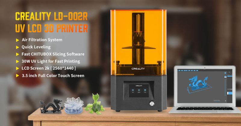 Creality LD002R LCD Resin 3D Printer