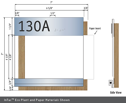 Interior Signage Specifications