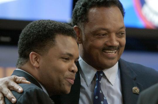 Does Jackson Sr. help or hurt Jackson Jrs chances of replacing Obama?