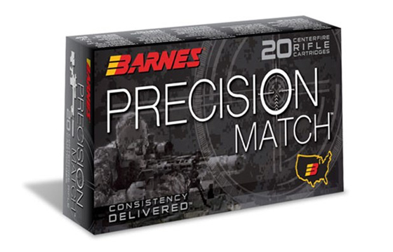 Barnes Bullets Expands Precision Match Line