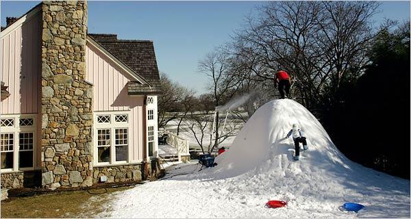 NYTimes snow machines