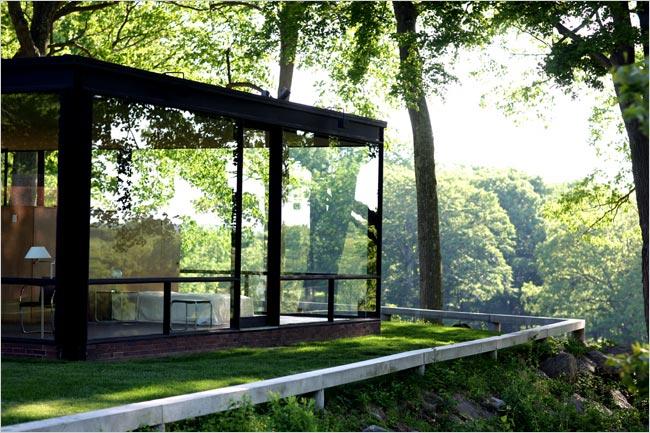 glass house corner