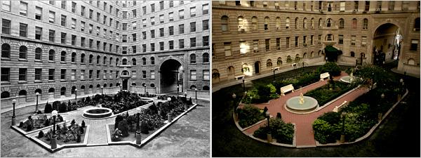 Dakota Private Courtyard