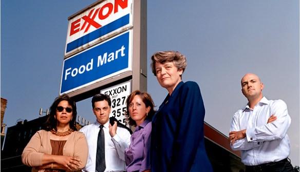 New York Times Exxon image