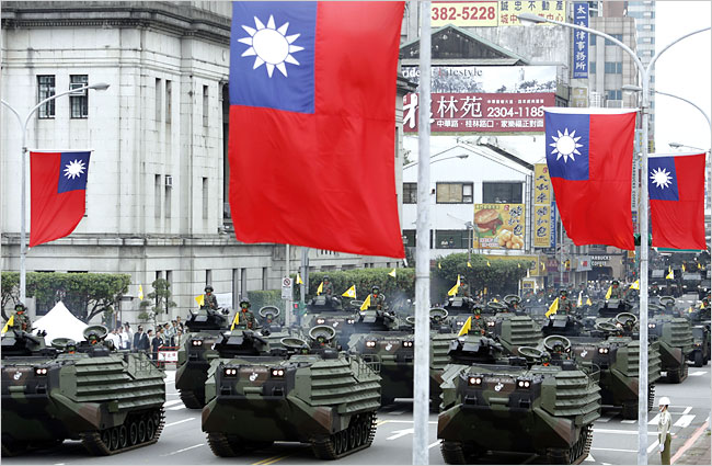 Tensions Rising Between China and Taiwan