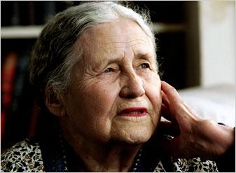 Doris Lessing Wins Nobel Prize in Literature