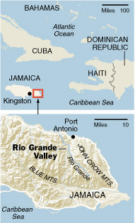 Map of the Rio Grande region (The New York Times)
