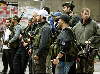 Hezbollah Gunmen Seize Control in Beirut