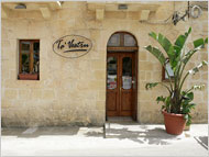 The restaurant Ta' Vestru