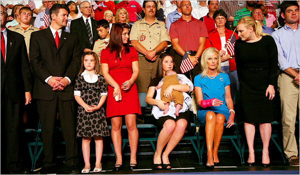 Family Members of the Republican Presidential Ticket