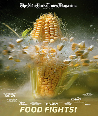 review of omnivore s dilemma the industrial corn Book review: the omnivore's dilemma by michael pollan by melanie bettinelli on january 16, 2009 in books i suppose i need to stop proclaiming that i don't really like to read non-fiction.