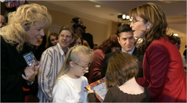Palin Promises Choice for Disabled Students