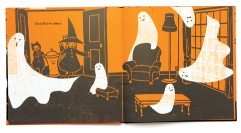 Ghosts in the House! Written and illustrated by Kazuno Kohara.