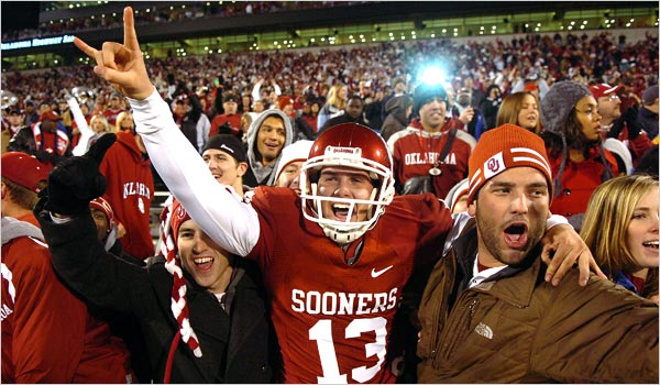 Oklahoma victorious over T.T.