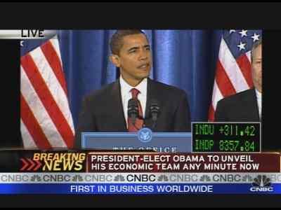 Obama Announces Economic Team