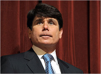 Gov. Rod R. Blagojevich of Illinois.