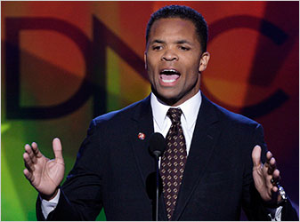 Rep. Jesse Jackson Jr. at the Democratic National Convention in August.