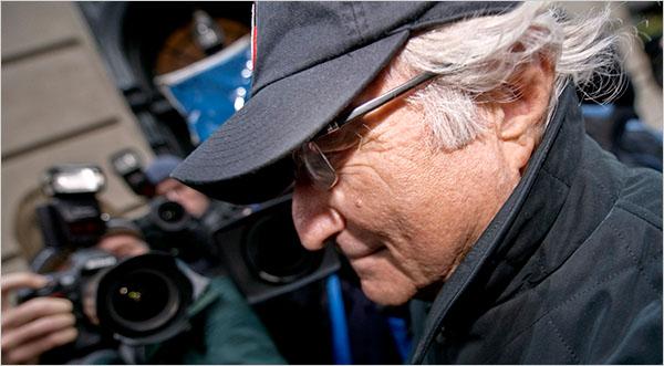 Bernie Madoff (c/o NYTimes)