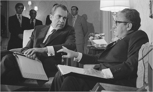 Nixon and Kissinger - 1972 (Courtesy - nytimes.com)