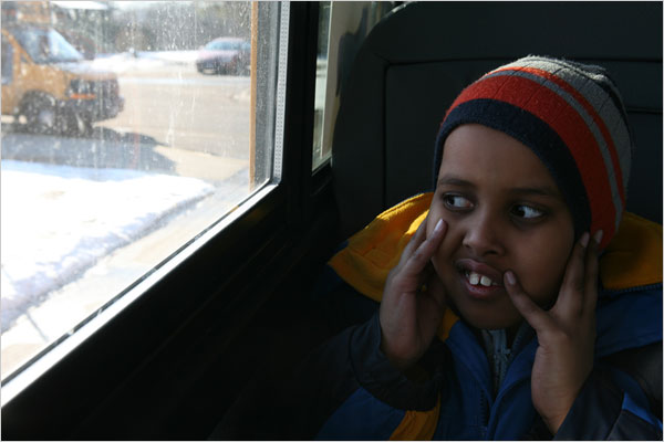 Ahmed Essa, 8, is autistic. A former Minneapolis school official said Somalis made up 25 percent of children in preschool classes for those with severe autism.