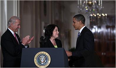 Obama appoints Sotomayor