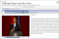 Video and Transcript of Obama's Address