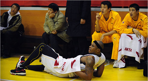 Amid Basketball Boom in China, Hard Times for Its Pro ...