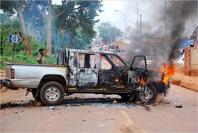 Uganda: paragon of stability.