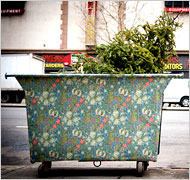 Beautified Dumpster