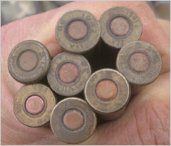 ammunition captured from taliban