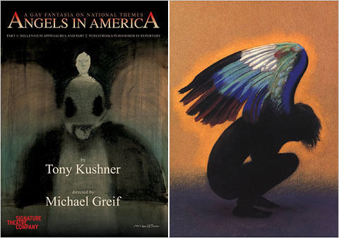 "angels in america essay themes The first time that the two parts of tony kushner's ""angels in america: a gay  fantasia on national themes"" were performed together, in 1992,."