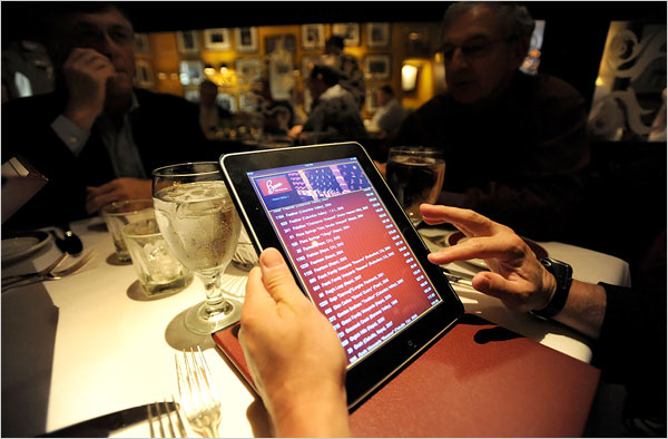 Technology is a great thing for the modern foodie.